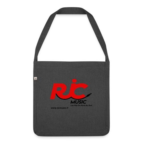 RJC Music avec site - Sac bandoulière 100 % recyclé