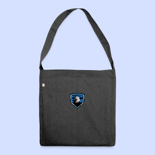 HypeCw logo (Silver) - Shoulder Bag made from recycled material