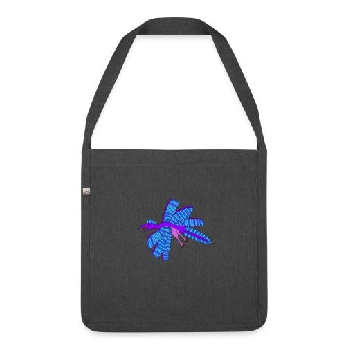 Mimosa das fliegende Urtier - Schultertasche aus Recycling-Material