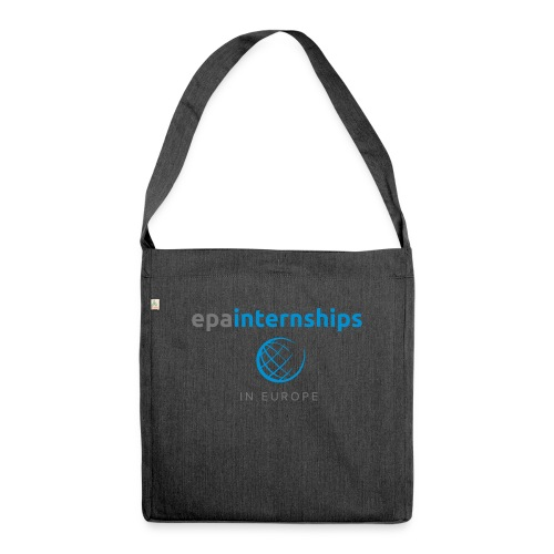 EPA Shirt Grey - Shoulder Bag made from recycled material