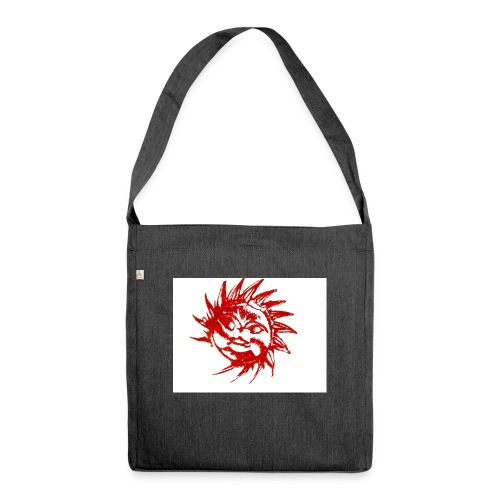 A RED SUN - Shoulder Bag made from recycled material