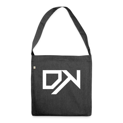 DewKee Logo Cap White - Shoulder Bag made from recycled material