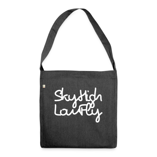 SkyHighLowFly - Men's Sweater - White - Shoulder Bag made from recycled material
