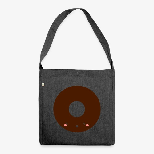 Happy Doughnut - Shoulder Bag made from recycled material