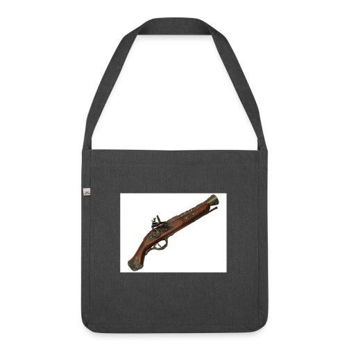 Pistola - Bandolera de material reciclado