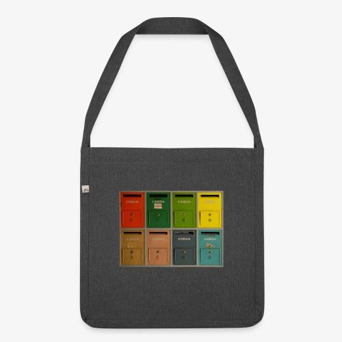 Briefkasten - Schultertasche aus Recycling-Material