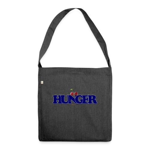 TShirt Hunger cerise - Sac bandoulière 100 % recyclé