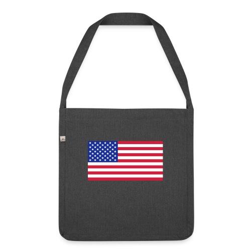 USA / United States - Schoudertas van gerecycled materiaal
