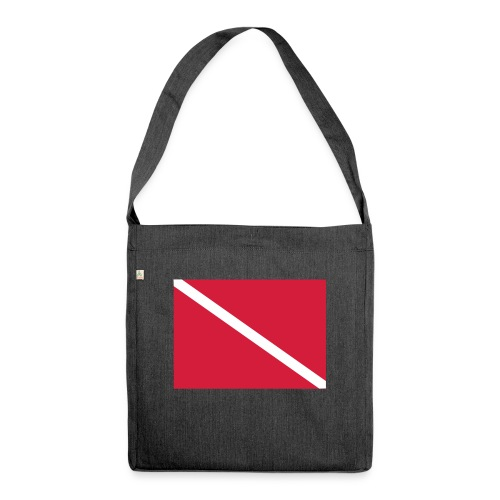 Diver Flag - Shoulder Bag made from recycled material
