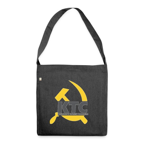 kto communism shirt - Axelväska av återvinningsmaterial