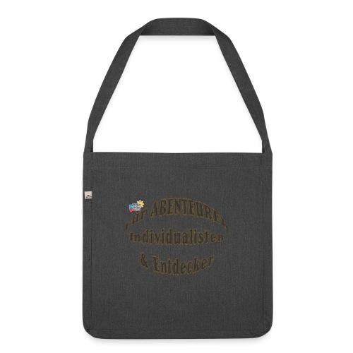 Abenteurer Individualisten & Entdecker - Schultertasche aus Recycling-Material