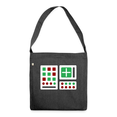 Classic Computer 2 - Schultertasche aus Recycling-Material