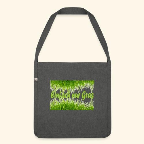einfach nur gras2 - Schultertasche aus Recycling-Material