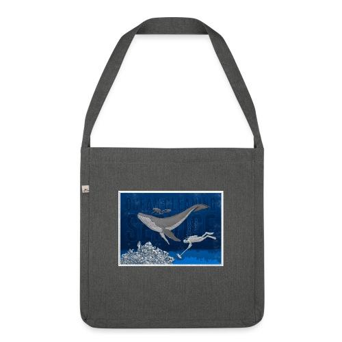 Ocean cleaning service. bluecontest - Skuldertaske af recycling-material