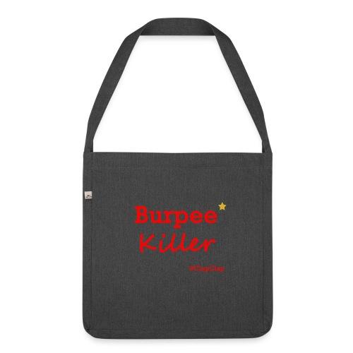 Burpee Killer Stern - Schultertasche aus Recycling-Material