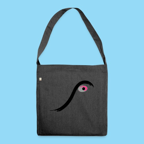 Eyed - Shoulder Bag made from recycled material