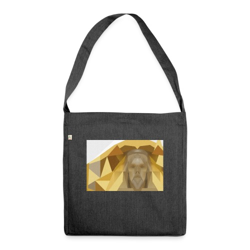 In awe of Jesus - Shoulder Bag made from recycled material