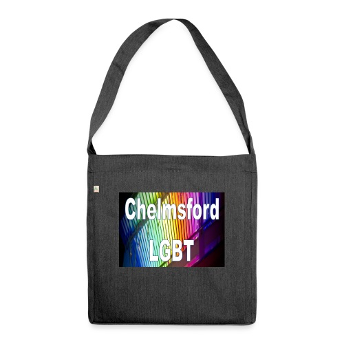 Chelmsford LGBT - Shoulder Bag made from recycled material