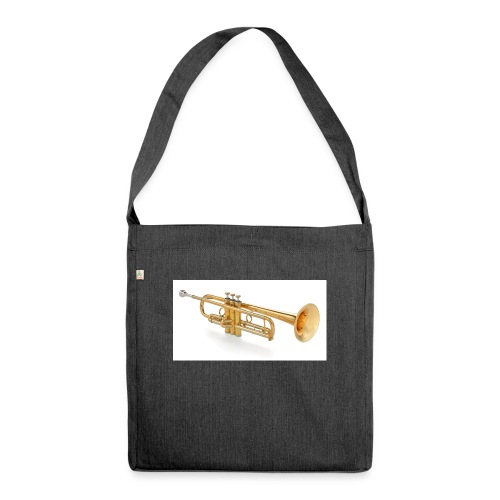 the trumpet - Schultertasche aus Recycling-Material