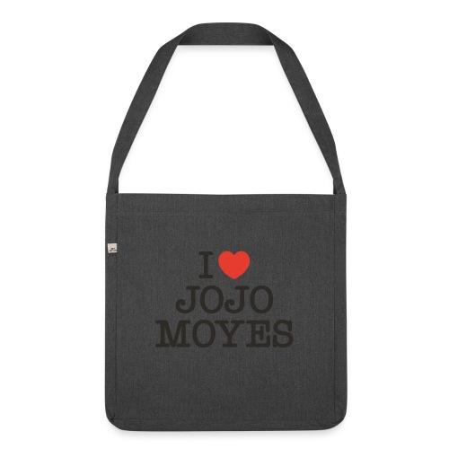 I LOVE JOJO MOYES - Skuldertaske af recycling-material