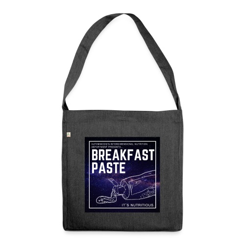 Breakfast Paste - Shoulder Bag made from recycled material