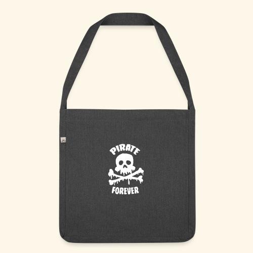 pirate forever - Sac bandoulière 100 % recyclé