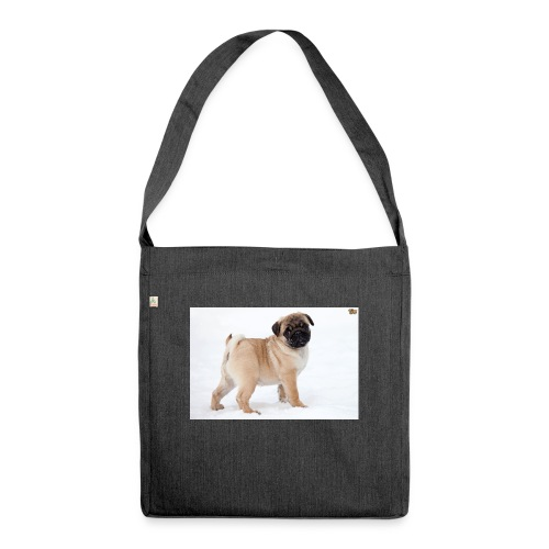 walker family pug merch - Shoulder Bag made from recycled material
