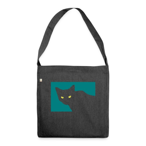 Spy Cat - Shoulder Bag made from recycled material