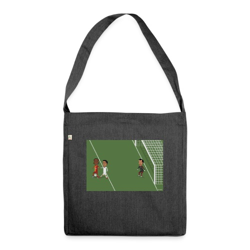 Backheel goal BG - Shoulder Bag made from recycled material