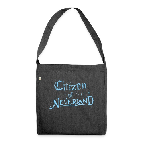 Citizen_blue 02 - Shoulder Bag made from recycled material