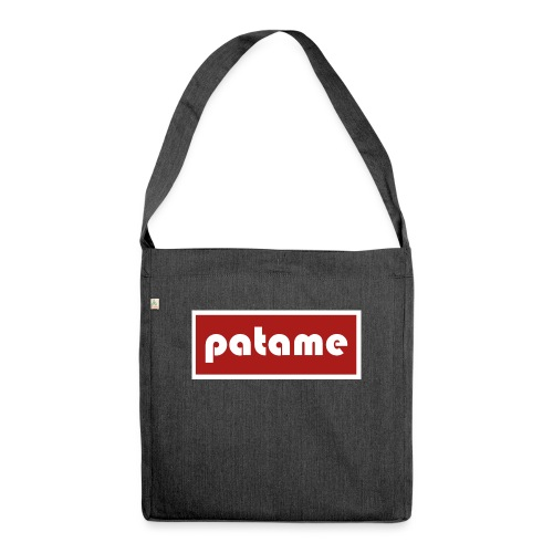 patame Logo - Schultertasche aus Recycling-Material