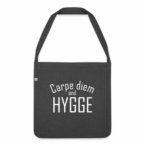 HYGGE Carpe diem - Schultertasche aus Recycling-Material