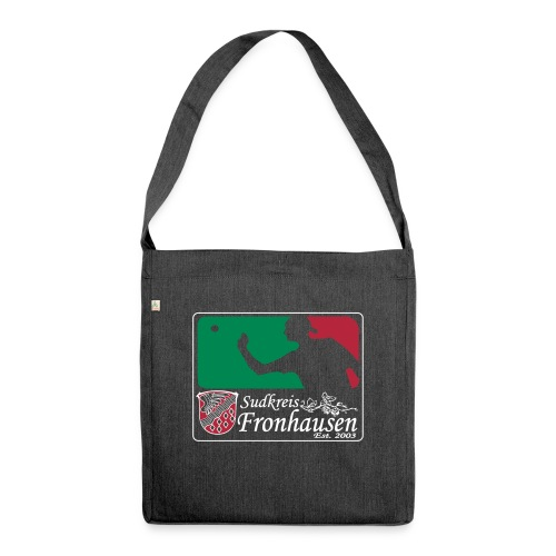 Logo_Beer_Pong_2015 - Schultertasche aus Recycling-Material