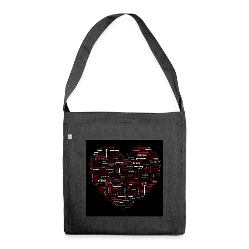 Heart - Shoulder Bag made from recycled material