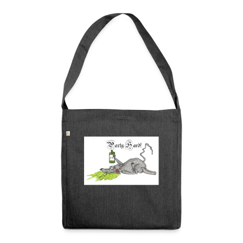PartyHard - Schultertasche aus Recycling-Material