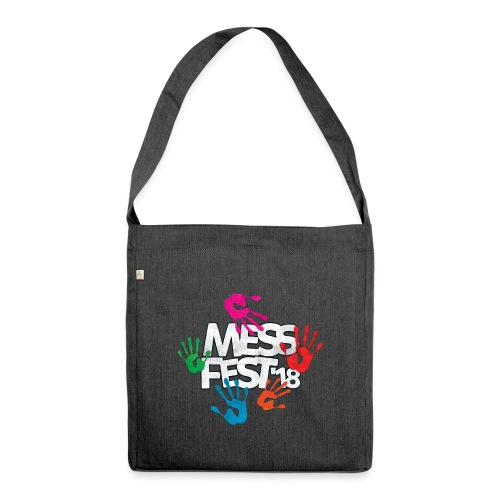 Mess Fest '18 - Shoulder Bag made from recycled material