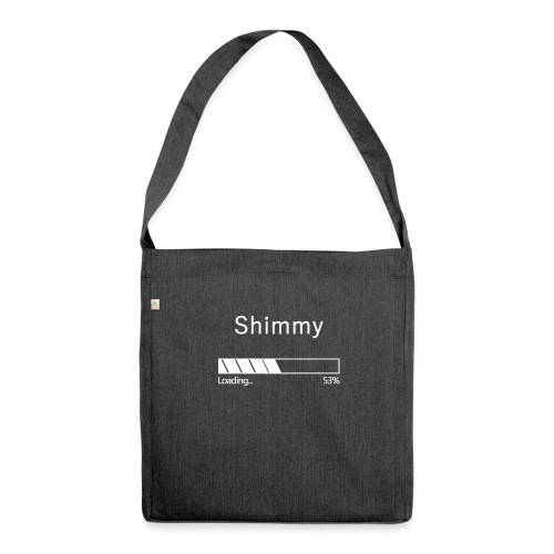 Shimmy Loading ... White - Shoulder Bag made from recycled material