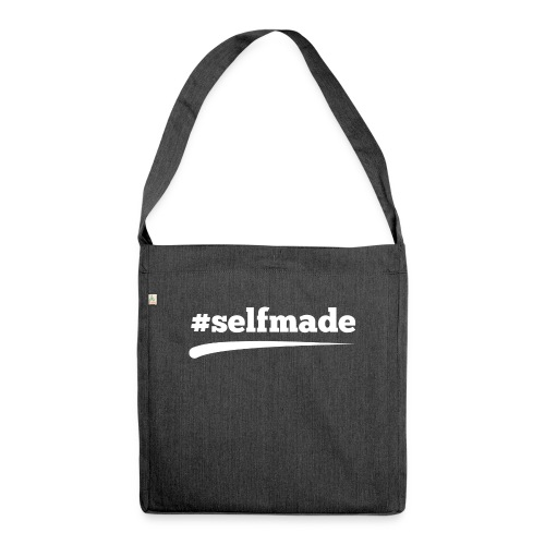 #SELFMADE - Schultertasche aus Recycling-Material
