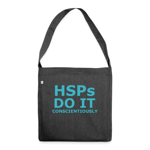 Do It hsPs women's t-shirt - Shoulder Bag made from recycled material