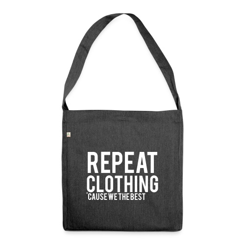 Repeat Clothing - Shoulder Bag made from recycled material