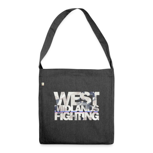 WMF low poly light - Shoulder Bag made from recycled material