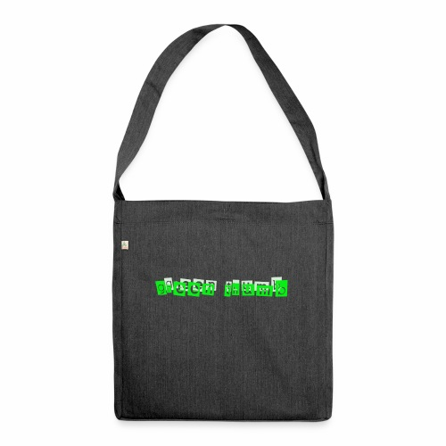 green thumb - Schultertasche aus Recycling-Material
