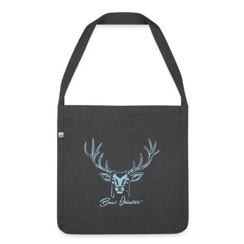 hirsch bow hunter - Schultertasche aus Recycling-Material