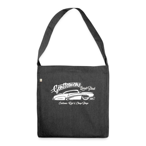 Gentlemans Lead Sled - Schultertasche aus Recycling-Material