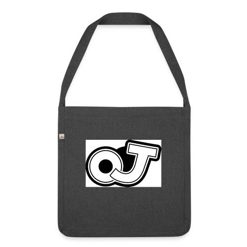 OJ_logo - Schoudertas van gerecycled materiaal