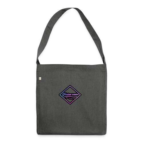 jordan sennior logo - Shoulder Bag made from recycled material