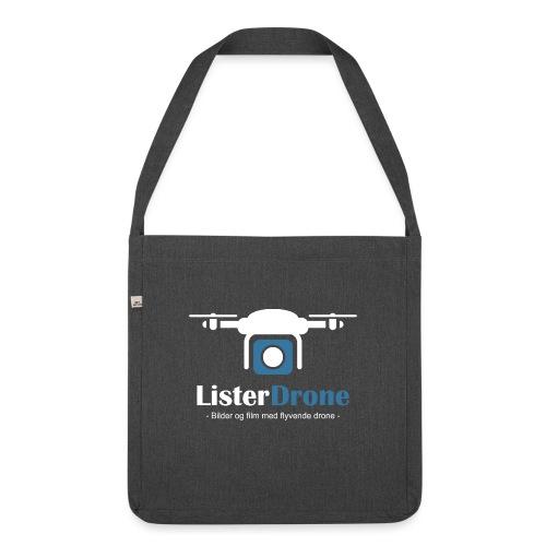 ListerDrone logo - Skulderveske av resirkulert materiale