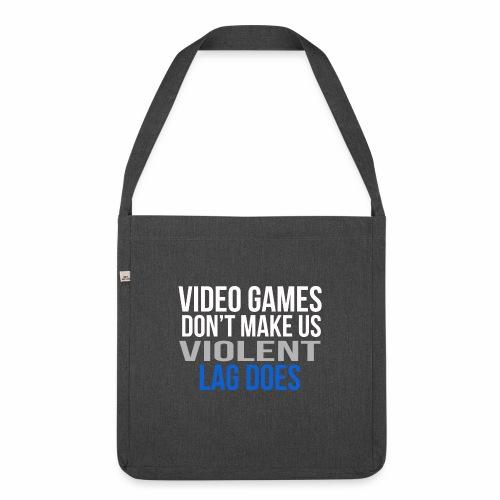 Video games - Olkalaukku kierrätysmateriaalista