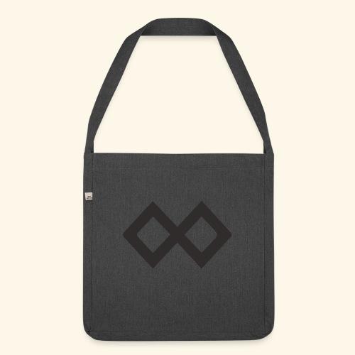 TenX Logo - Schultertasche aus Recycling-Material