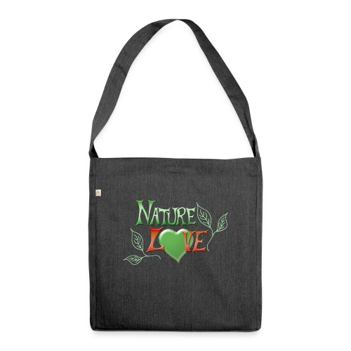 Nature Love - Schultertasche aus Recycling-Material
